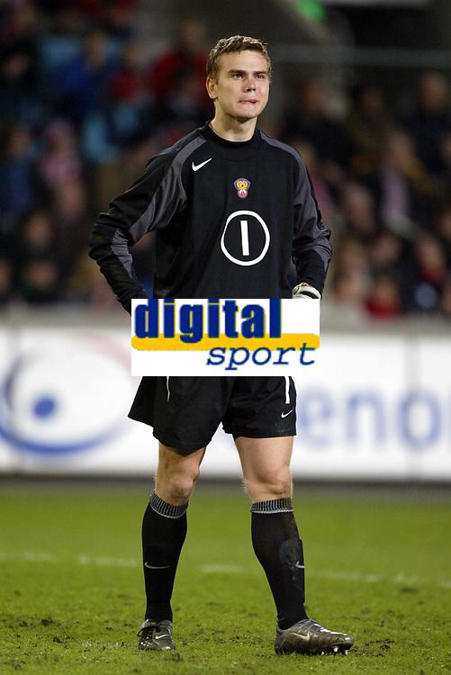 Fotball, 28. april 2004, Privatlandskamp, Norge-Russland 3-2, Igor Akinfeev, Russland