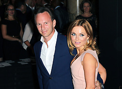 © Licensed to London News Pictures. 02/07/2014, UK. Geri Halliwell; Christian Horner; Red Bull, F1 Party in aid of Great Ormond Street Hospital Children's Charity, Victoria and Albert Museum, London UK, 02 July 2014. Photo credit : Richard Goldschmidt/Piqtured/LNP