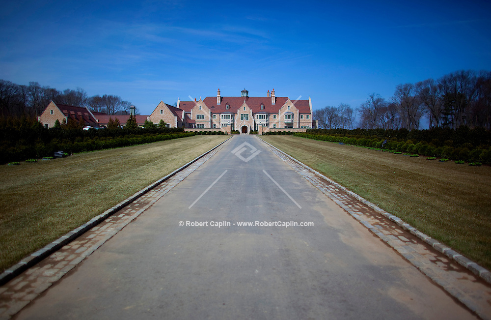 Steven Schonfeld's newly built $90 million home in Long Island, NY on Thursday, March 26, 2009.