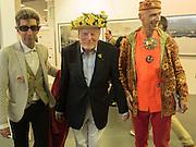 DUGGIE FIELDS; BRIAN ANGEL; ANDREW LOGAN, Art16. Olympia. 19 May 2016