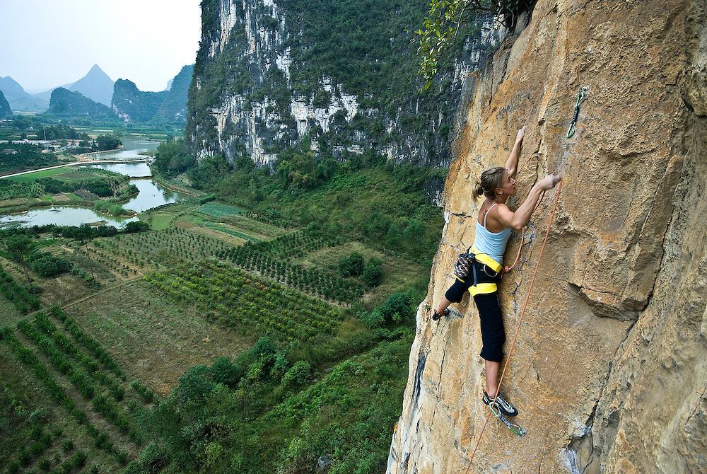 Kate Rutherford, Yangshuo, China