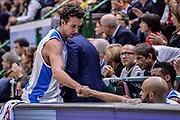 DESCRIZIONE : Eurolega Euroleague 2015/16 Group D Dinamo Banco di Sardegna Sassari - Darussafaka Dogus Istanbul<br /> GIOCATORE : Giacomo Devecchi David Logan<br /> CATEGORIA : Fair Play Cambio Sostituzione<br /> SQUADRA : Dinamo Banco di Sardegna Sassari<br /> EVENTO : Eurolega Euroleague 2015/2016<br /> GARA : Dinamo Banco di Sardegna Sassari - Darussafaka Dogus Istanbul<br /> DATA : 19/11/2015<br /> SPORT : Pallacanestro <br /> AUTORE : Agenzia Ciamillo-Castoria/L.Canu