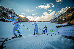 Falk Hanna and Nilsson Stina of Sweden during Ladies 1.2 km Free Sprint race at FIS Cross Country World Cup Planica 2016, on January 16, 2016 at Planica, Slovenia. Photo By Grega Valancic / Sportida