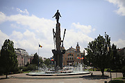 Cluj-Napoca, Romania Avram Iancu Square