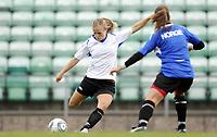 Fotball<br /> Norge<br /> 04.05.2011<br /> Foto: Morten Olsen, Digitalsport<br /> <br /> Trening Norge A kvinner<br /> Nadderud Stadion<br /> Internkamp - Norge Blå mot Norge Hvit<br /> <br /> Lindy Melissa Wiik