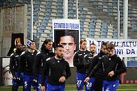 Supporters de Bastia / Pierrot BIANCONI  - 07.03.2015 -  Bastia / Nice -  28eme journee de Ligue 1 <br /> Photo : Michel Maestracci / Icon Sport