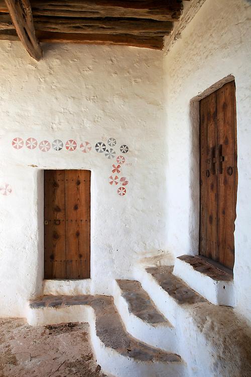 24/Noviembre/2009 Ibiza.Can Pere Roig en Sant Mateu..©JOAN COSTA