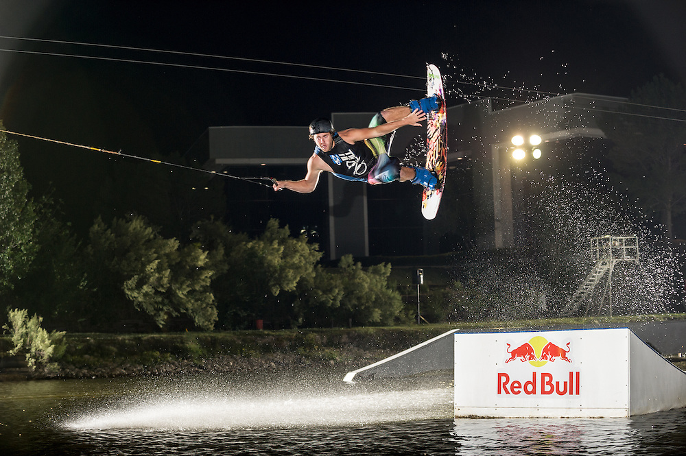 Participant Competes at Red Bull Boarder Wars in Fort Worth, Texas on October 5th, 2012