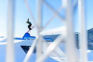 McRae Williams during Men's Ski Slopestyle Practice at during 2017 X Games Norway at Hafjell Alpinsenter in Øyer, Norway. ©Brett Wilhelm/ESPN
