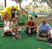 Pia Mia, Remy Thorne, Brandon Johnson and Chris Brochu..2011 Celebrity Picnic Sponsored By Disney, Time For Heroes, To Benefit The Elizabeth Glaser Pediatric AIDS Foundation - Inside..Wadsworth Theater Lawn..Los Angeles, CA, USA..Sunday, June 12, 2011..Photo By CelebrityVibe.com..To license this image please call (212) 410 5354; or.Email: CelebrityVibe@gmail.com ;.website: www.CelebrityVibe.com