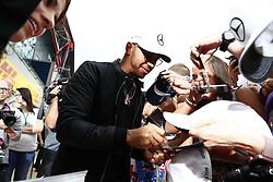 July 13, 2017 - Silverstone, Great Britain - Motorsports: FIA Formula One World Championship 2017, Grand Prix of Great Britain, ..#44 Lewis Hamilton (GBR, Mercedes AMG Petronas F1 Team) (Credit Image: © Hoch Zwei via ZUMA Wire)