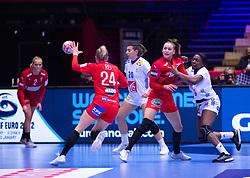 EHF Euro 2020 Group A match between France and Denmark in Jyske Bank Boxen, Herning, Denmark on December 9, 2020. Photo Credit: Lars Jørgensen/EVENTMEDIA.