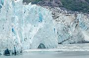 Iceberg Calving on Margarie Glacier, Glacier Bay National Park, AK