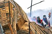 Groesbeek, 3-3-2019Natte carnavalsoptocht door het Keulen van Gelderland.Foto: Flip Franssen