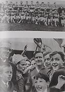 top:Tipperary-All-Ireland Hurling Champions 1965. Back Row: G Doyle, J O'Donoghue, M Keating, M Burns, M Maher, T Ryan, S McGloughlin, K Carey, M Roche, T Wall, J Doyle, O Bennett. Front Row: L Devaney, N O'Gorman, L Gaynor, S Mackey, L Kiely, D Nealon, P O'Sullivan, J Doyle (capt), T English, J Dillon, P Doyle, J McKenna.
