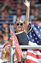 02-07-2011 VOETBAL: FIFA WOMENS WORLDCUP 2011 USA - COLUMBIA: SINSHEIM<br /> Support USA Fans<br /> ***NETHERLANDS ONLY***<br /> ©2011-FRH- NPH/Roth
