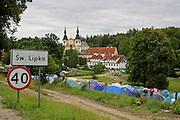 Święta Lipka, 2006-05-06. Sanktuarium maryjne - Bazylika pw. Nawiedzenia NM Panny w Świętej Lipce