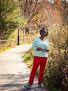 Brooklyn, NY - November 21, 2020: Portraits of Tricia Okin in Prospect Park.<br /> <br /> Photos by Clay Williams.<br /> <br /> © Clay Williams / claywilliamsphoto.com