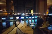 View of the Saigon River from the Renaissance Riverside Hotel Saigon, Ton Duc Thang Street, District 1
