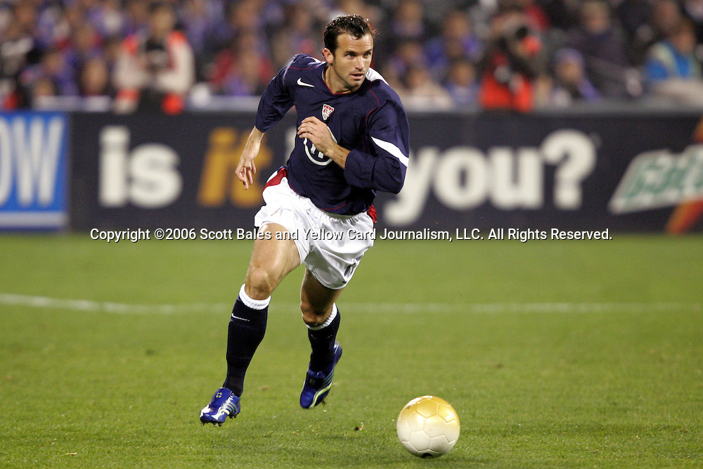 10 February 2006: Chris Klein, of the United States. The United States Men's National Team defeated Japan 3-2 at SBC Park in San Francisco, California in an International Friendly soccer match.