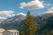 Guarda, municipality of Scuol, Engadin, Graubünden, Switzerland