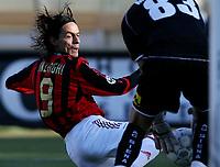 Siena 22/1/2006 Stadio Artemio Franchi, Campionato Italiano Serie A, Siena Milan 0-3.<br /> Filippo Inzaghi Milan<br /> Photo Andrea Staccioli Digitalsport
