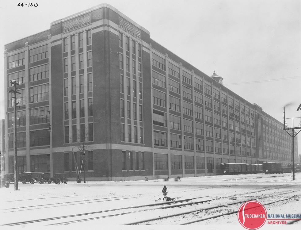 Studebaker building #84, the company's body assembly plant, 1924.
