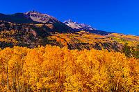 Sunshine Peak and Mt. Wilson, San Juan Mountains, near Telluride, Colorado USA.