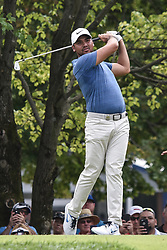 August 12, 2018 - Town And Country, Missouri, U.S - JASON DAY from Australia tees off on hole two during round four of the 100th PGA Championship on Sunday, August 12, 2018, held at Bellerive Country Club in Town and Country, MO (Photo credit Richard Ulreich / ZUMA Press) (Credit Image: © Richard Ulreich via ZUMA Wire)