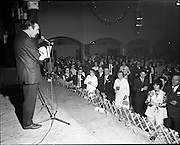 20/04/1970<br /> 04/20/1970<br /> 20 April 1970<br /> Tynagh Mines Dinner Dance at Loughrea, Co. Galway. P.J. Hughes addresses the gathering,