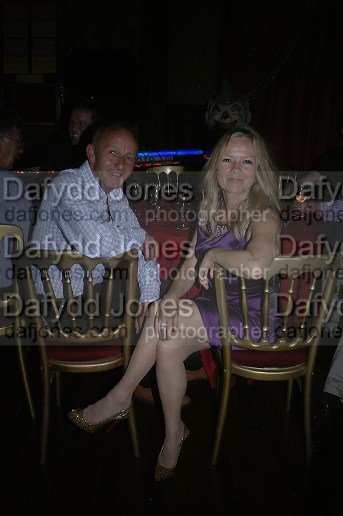Tony Jackson and Jo Good, Book launch for Julian Clary's ' Murder Most Fab ',Simon Drake's House of Magic 9 Chapter Road, Kennington SE17. 14 August 2007.  -DO NOT ARCHIVE-© Copyright Photograph by Dafydd Jones. 248 Clapham Rd. London SW9 0PZ. Tel 0207 820 0771. www.dafjones.com.