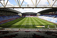 a General view inside the stadium before the match. Skybet football league one match , Wigan Athletic v Southend Utd at the DW Stadium in Wigan, Lancs on Saturday 23rd April 2016.<br /> pic by Chris Stading, Andrew Orchard sports photography.
