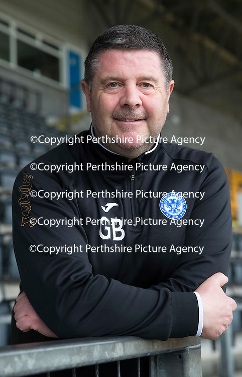 George Browning, St Johnstone FC...25.04.14<br /> <br /> Picture by Graeme Hart.<br /> Copyright Perthshire Picture Agency<br /> Tel: 01738 623350  Mobile: 07990 594431