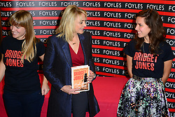 Helen Fielding book signing. <br /> Bestselling British novelist, renowned for her Bridget Jones books which were made into several hit films, signs copies of her new book, Bridget Jones: Mad About the Boy, set in the present day, Foyles, Charing Cross Road,<br /> London, United Kingdom. Thursday, 10th October 2013. Picture by Nils Jorgensen / i-Images