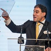 Speaker Lord Karan Bilimoria at the 5th British Kebab Awards on 26th Feb 2017 at Park Plaza Westminster ,London,UK. by See Li