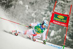 Loic Meillard of Switzerland during 2nd run of Men's Giant Slalom race of FIS Alpine Ski World Cup 57th Vitranc Cup 2018, on March 3, 2018 in Podkoren, Kranjska Gora, Slovenia. Photo by Ziga Zupan / Sportida