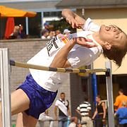 NLD/Hilversum/20050904 - Arenagames 2005, hoogspringen, Tymon de Jonge