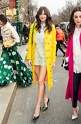 Shailene Woodley is seen arriving to Carolina Herrera Fall/Winter 2019 Fashion Show during New York Fashion Week at the New York Historical Society in New York. 11 Feb 2019 Pictured: Shailene Woodley. Photo credit: MEGA TheMegaAgency.com +1 888 505 6342