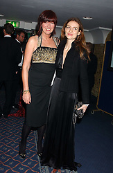 Left to right, JANET STREET-PORTER and actress SAFFRON BURROWS at the 2005 Whitbread Book Awards 2005 held at The Brewery, Chiswell Street, London EC1 on 24th January 2006. The winner of the 2005 Book of the Year was Hilary Spurling for her biography 'Matisse the Master'.<br /><br />NON EXCLUSIVE - WORLD RIGHTS