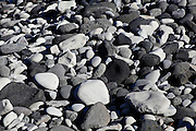 Iceland, snaefellsnes peninsula, breioavik bay Pebbles on the beach