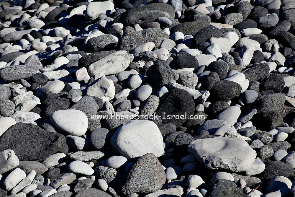 Iceland, snaefellsnes peninsula, breioavik bay Pebbles on the beach