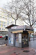 Kiosco Antonio, on Paral-lel, near Placa de  d'Espanya, Barcelona.