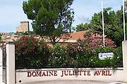 domaine juliette avril chateauneuf du pape rhone france