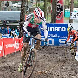 31-01-2016: Wielrennen: WK cyclecross elite: Heusden ZolderHEUSDEN-ZOLDER (BEL) cyclocrossOp het circuit van Terlamen-Zolder streden de elite veldrijders om de mondiale titels in het veld. <br /> Simon Zahner