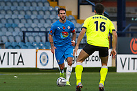 Liam Hogan. Stockport County FC 1-2 Weymouth FC. Vanarama National League. 31.10.20