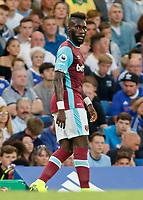 Football - 2016/2017 Premier League - Chelsea V West Ham United. <br /> <br /> Arthur Masuaku of West Ham at Stamford Bridge.<br /> <br /> COLORSPORT/DANIEL BEARHAM