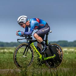 EMMEN (NED) June 16: <br />CYCLING <br />Dutch Nationals Time Trail Women Elite Natalie vna Gogh