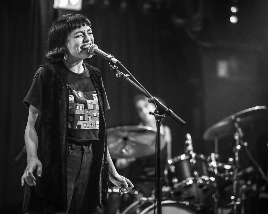 Australian singer-songwriter Stella Donnelly at Yuca Club in Cologne