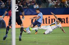 Los Angeles Galaxy V The New York City FC - 12 Aug 2017