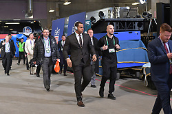 The Philadelphia Eagles vs the New England Patriots in Lurie Super Bowl LII  at US Bank Stadium on February 4, 2018 in Minneapolis, Minnesota. (Photo by Philadelphia Eagles)